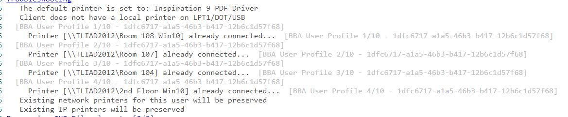 Printer Deployment, Not following Logic - Desktop Authority Forum