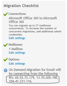 Best practices for migrating with On Demand Migration for Email