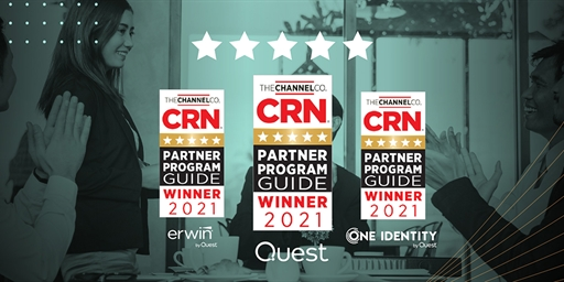 Quest Honored with 5-Star Ratings in the 2021 CRN Partner Program Guide