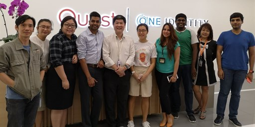 Quest Singapore's 'Go Green' initiative hosts a special guest speaker