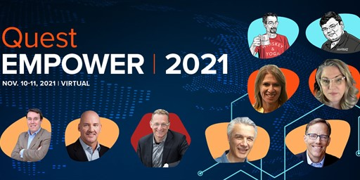 Quest & erwin customers – get the power to transform everything at Quest EMPOWER