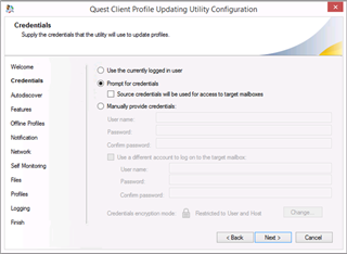 Updating Outlook Profiles - OnDemand Migrator with CPUU - Ondemand