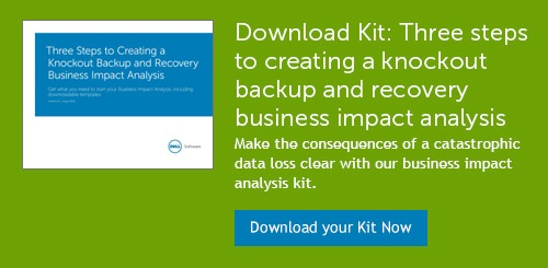 Backup And Recovery Business Impact Analysis Template: How To