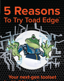 5 Reasons To Try Toad Edge