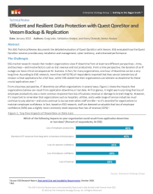 Accelerating Data Protection with Quest QoreStor and Veeam