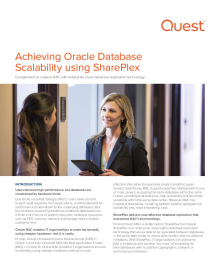Achieving Oracle Database Scalability With or Without RAC Using SharePlex