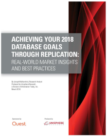 Achieving Your Database Goals Through Replication: Real World Market Insights and Best Practices