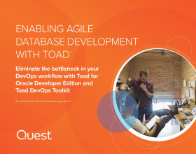 Full e-book: Enabling Agile Database Development with Toad