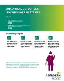 Analytical Detectives: solving data mysteries