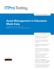 Asset Management in Education Made Easy