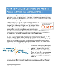 Auditing Privileged Operations and Mailbox Access in Office 365
