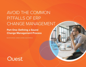 Avoid the Common Pitfalls of ERP Change Management: Part One