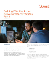 Azure AD Security Best Practices: Continually Assess