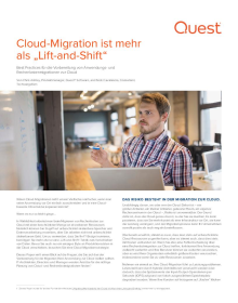 "Cloud-Migration ist mehr als ""Lift-and-Shift"""