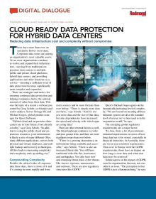 Cloud-Ready Data Protection for Hybrid Data Centers