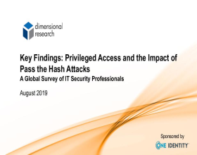 The Complete Global Survey Report for Pass the Hash Attacks