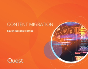 Content Migration - Seven Lessons Learned