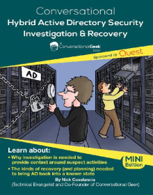 Conversational Geek e-book: Hybrid AD Security Investigation & Recovery