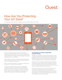 Data Protection: How Are You Protecting Your IoT Data?
