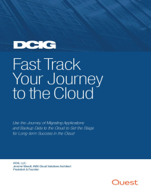 DCIG: Fast Track Your Journey to the Cloud