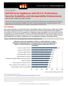Added functionality for Dell DR Backup Appliances address market's top requirements affordably, says ESG. See why.