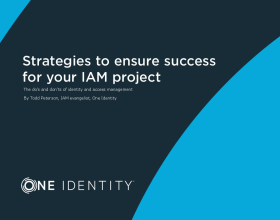Strategies to ensure success for your identity and access management (IAM) project