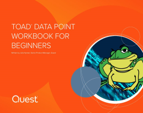 Toad Data Point Workbook for Beginners