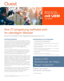 A Hybrid UEM Solution for an Evolving IT Environment