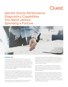 Get the Oracle performance you need without breaking the bank!