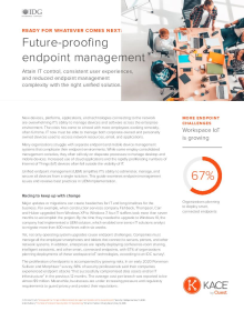 Future-proofing endpoint management | White Paper