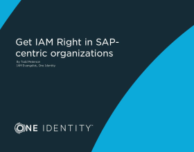 Get IAM Right in SAP-centric Organizations