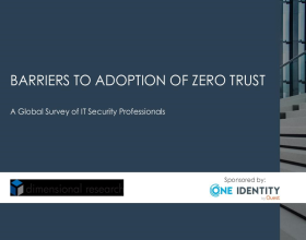 Global Survey Results 2020 - Barriers to Adoption of Zero Trust
