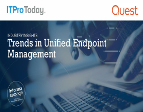 Report: Industry Insights - Trends in Unified Endpoint Management