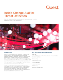 Inside Change Auditor Threat Detection