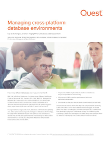 Managing Cross-Platform Database Environments