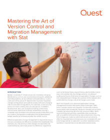 Mastering the Art of Version Control and Migration Management with Stat