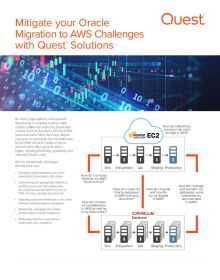 Mitigate your Oracle Migration to AWS Challenges with Quest® Solutions