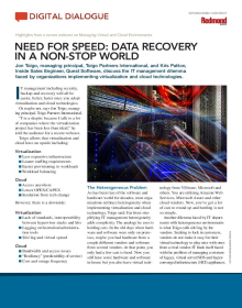 Need for Speed: Data Recovery in a Non-Stop World