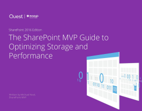 SharePoint Guide to Storage and Performance