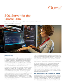 SQL Server for the Oracle DBA