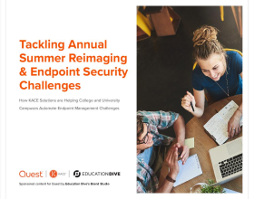 Tackling Annual Summer Reimaging & Endpoint Security Challenges