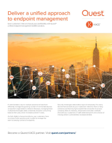 Channel brief : Deliver a unified approach to endpoint management