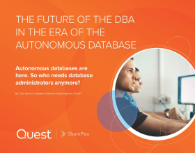 The Future of the DBA in the Era of the Autonomous Database