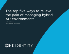 EBook - The top five ways to relieve the pain of managing hybrid AD environments