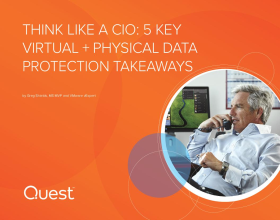 Be a C-suite hero with these 5 key virtual + physical data protection takeaways.