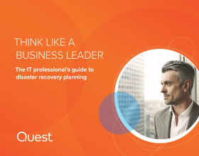 Think Like a Business Leader: The IT Professional's Guide to Disaster Recovery Planning