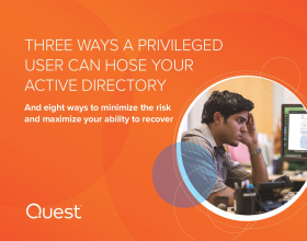 Three ways a privileged user can hose your Active Directory