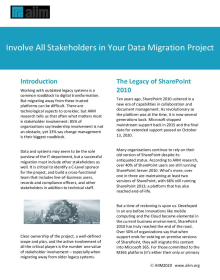 Tips for Your Next Content Migration