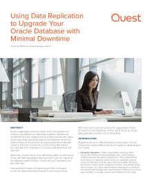 Using Data Replication to Upgrade Your Oracle® Database with Minimal Downtime