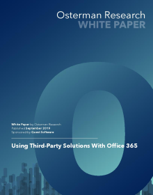 Using Third-Party Solutions with Office 365